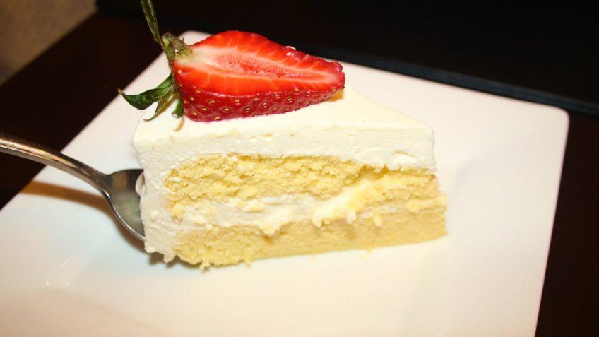 Lemon Sponge Cake With Mascarpone Whipped Cream Frosting