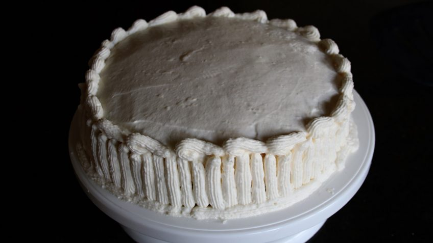 Stabilized Whipped Cream Frosting Room Temperature