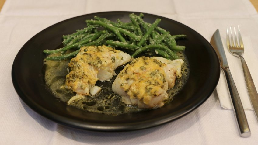 Lemon Basil Baked Cod Keto Meals And Recipes
